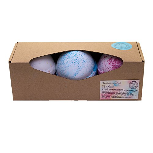 bath-bomb-gift-set-3-large180gm-made-in-the-uk-bath-fizzies-in-dessert-scents-with-shea-butter