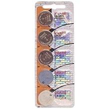 Maxell Cr2025 - Pack de 5 pilas (3 V, Litio, 170 mAh), color gris