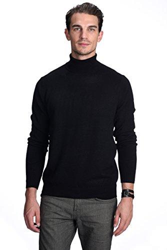 STATE CASHMERE Pullover aus 100% reinem Kaschmir mit Rollkragen für Herren (Rollkragenpullover Herren Kaschmir-pullover)