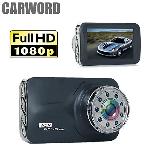 Auto Dash Cam Stealth Full HD 1080P Dash Kamera G-Sensor, Nachtsicht, Parkmodus, Loop-Aufnahme