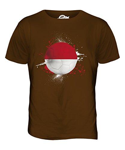 CandyMix Indonesien Fußball Herren T Shirt Braun