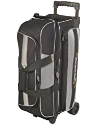 Streamline 3 Ball Roller Bowling Bag by Storm- Black/Silver by Storm Bowling Products