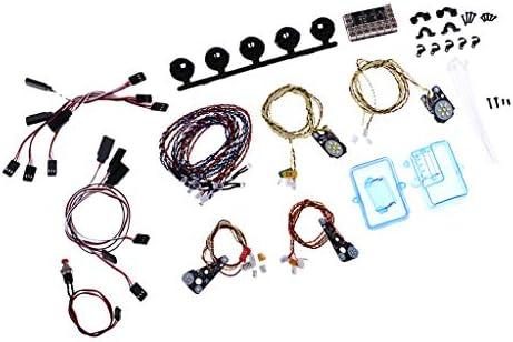 FLAMEER LED Lampe Ensemble Kit Bricolage pour Traxxas Trx4 1/10 RC Voiture Camion de Chenille | Outlet Online