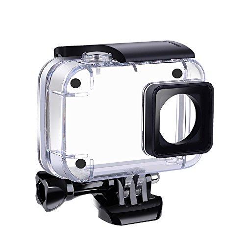 SupTig carcasa impermeable bajo el agua impermeable caja de protección para Yi 4K 4K Acción Xiaomi Xiaoyi Yi 4K 4K + cámaras de acción