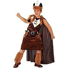 Atosa - Disfraz de vikingo para niño, talla 116 (8422259107088)