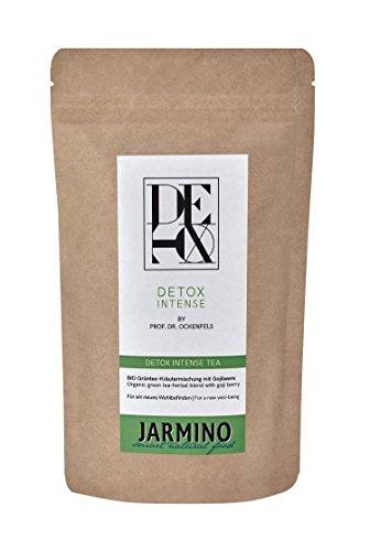 Detox Tee Abnehmen & Entgiftungstee mit JARMINO | BIO Entschlackungstee für Detox Kur Abnehmen | Natürliche Entschlackung & Ergänzung zur Stoffwechselkur