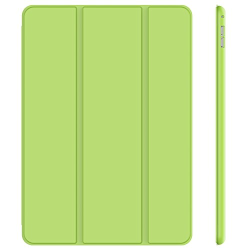 JETech Hülle für iPad Pro 12,9 2015 Modell, Schutzhülle mit Ständer Funktion & Auto Schlaf/Wachen, Grün
