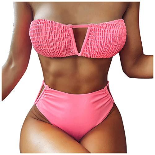 LANSKIRT Traje Baño Mujer 2020 Bikinis Mujer Ropa