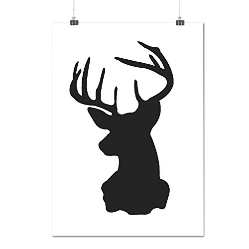 wild-animal-deer-beast-stag-party-matte-glossy-poster-a3-42cm-x-30cm-wellcoda