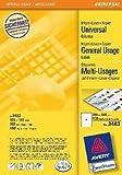Kopieretikett A4 ZWE 3483 * 400st 105x148mm Inkjet Laser