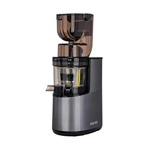 Extracteur de Jus BioChef Atlas Whole Slow Juicer PRO - Puissance maximale 400W / 40 tr/min, Grande...