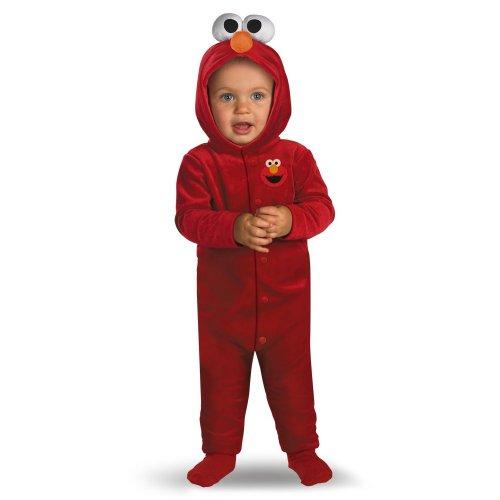 Kost-me f-r alle Gelegenheiten DG6590W Tickle Me Elmo Infant (Kostüm Baby Elmo)