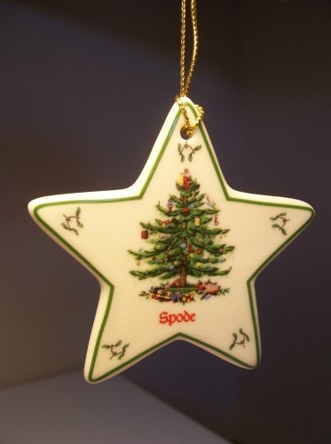 Spode Christmas Ornamente (Spode Christmas Tree Star Ornament by Spode Christmas Tree)