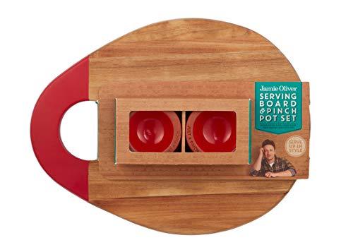 Jamie Oliver 555107 Servierbrett, Akazie