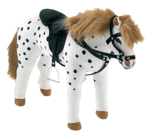 happy-people-58980-cavallo-leardo-con-sella-e-briglia-colore-bianco-nero