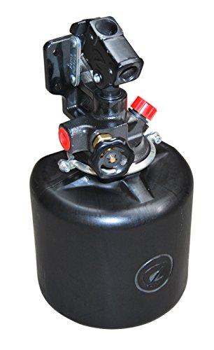 Anhänger Kipper Pumpe Handpumpe Hydraulikpumpe einfach wirkend Typ PE20 S mit 4 Liter Tank 20ccm 150bar