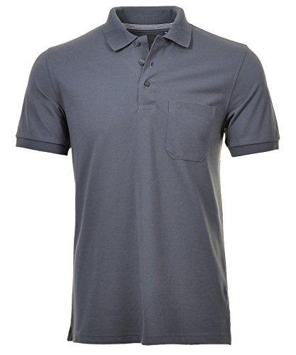 """RAGMAN Herren Poloshirt """"Pima de Lima"""" Schwarz-009"""