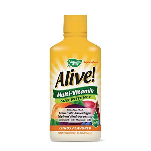 Nature 's Way Alive. Multivitamin Citrus Geschmack Liquid