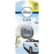 Febreze Cotton Fresh Car Clip Air Freshener, Pack of 6