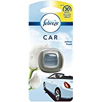 Febreze Cotton Fresh Car Clip Air Freshener, Pack of 6 - ukpricecomparsion.eu