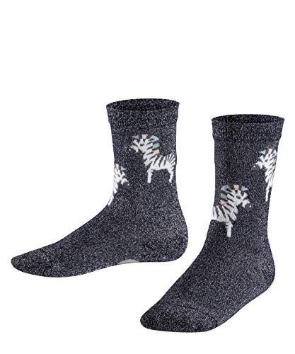 FALKE Zebra Kinder Socken dark navy (6370) 31-34 aus hautfreundlicher Baumwolle -