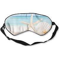 Cute Starfish Summer Seashells Sleep Eyes Masks - Comfortable Sleeping Mask Eye Cover For Travelling Night Noon... preisvergleich bei billige-tabletten.eu