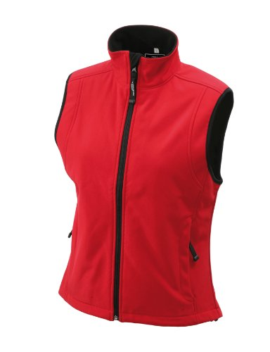 JAMES & NICHOLSON Softshellweste - Blouson - Femme Rouge (red)