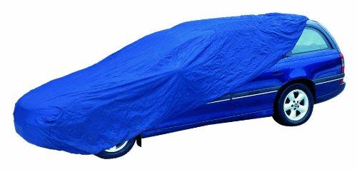 Cartrend KOMBI Vollgarage wetterfest, Größe XL, Polyester blau - vom Hersteller eingestellt