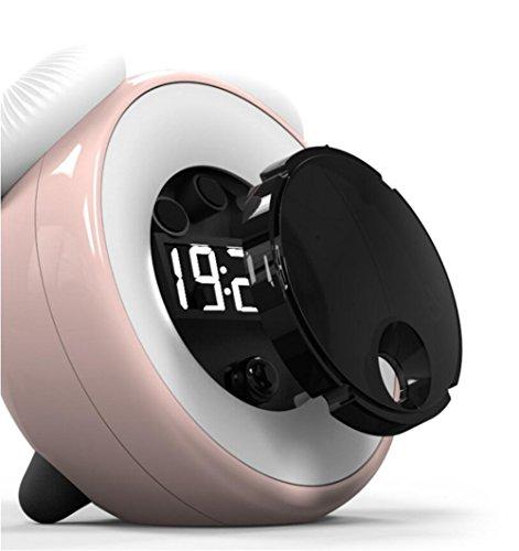 Wecker LED-Lichtsteuerung Nachtlicht Smart Sensor Alarm Schlummeralarm Nachtlicht Zeit Licht Sensor Pilz Licht , 3