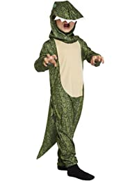 BOYS GIRLS DINOSAUR CROCODILE KIDS FANCY DRESS OUTFIT COSTUME 7 - 9 YEARS MONSTER