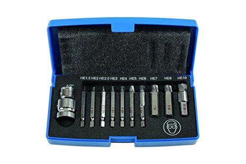 Preisvergleich Produktbild Laser Tools 6845 beschädigt Gap Head Bolt / Schraubenausdreher Set,  11-teilig