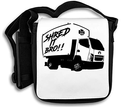 Shred It Bro Schultertasche