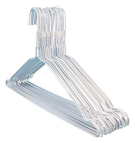 hangerworld-100-grucce-in-metallo-di-colore-bianco-con-incavi-laterali-41-cm