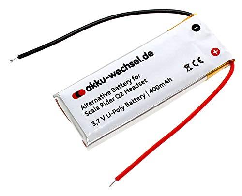 Akku Cardo Scala Rider Q2 / Q2 Pro Motorrad Bluetooth-Kopfhörer Headset / Midland BT Intercom, Albrecht u.a. Scala Rider Intercom