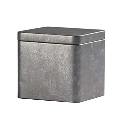 Fenteer Antike Metall Vorratsgefäß Vorratsdosen Vorratsbehälter Kaffeedose Teedose - Größe S