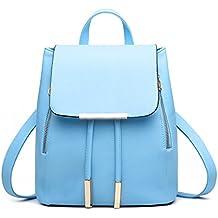 Pahajim - Bolso mochila  de Piel para mujer