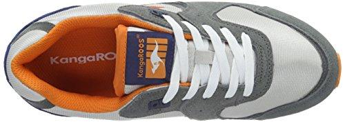 Kangaroos Coil-R2, Baskets mode homme Gris (Mid Grey/Lt Grey 223)