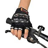 Cebbay Gants Cyclisme avec Gel Rembourré Doigt Complet - Gants Sport Respirant Souple Anti-Choc à Écran Tactile pour Vélo, VTT, BMX, Bicyclette, Motocross, Chaud, Gloves pour Homme et Femme