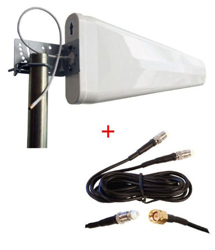 Price comparison product image TP-Link Archer MR200 AC750 Wireless 3G 4G LTE Router External Log Periodic yagi antenna highest gain