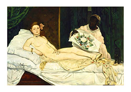 Spiffing Prints Edouard Manet Olympia 4 - Large - Matte - Unframed