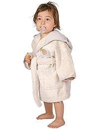 Tradition des vosges-Albornoz, diseño de cerezas, algodón, beige, 6 años