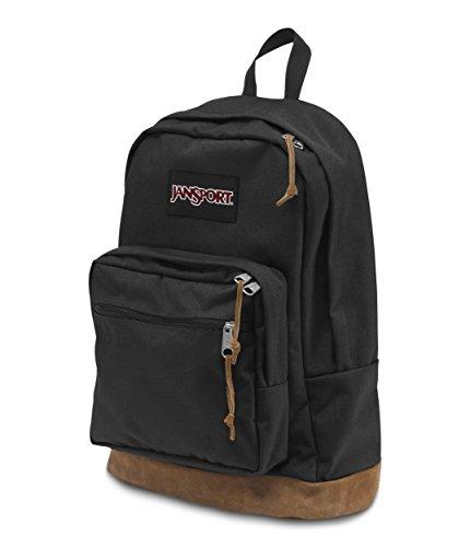 JanSport Right Pack 31 ltrs Black Casual Backpack (JTYP7008) Image 3