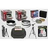 Panasonic Lumix DMC-FZ5, dmc-fz50K, & dmc-fz50s Digital Kamera HD² Professional Digital Accessory Kit