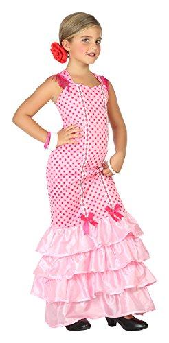 Atosa-39391 Disfraz Flamenca, Color Rosa, 5 A 6 Años (39391