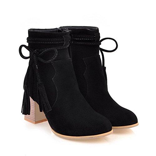 BalaMasa Abl10654, Sandales Compensées Femme Noir