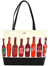 337db9381385 Kate Spade Hot Sauce Remmi Extra Spicy Tote Shoulder Bag Purse Handbag White  Multi