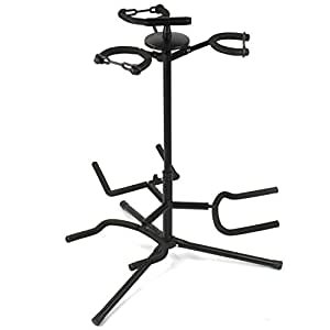 Tiger GST56-BK Triple Guitar Stand