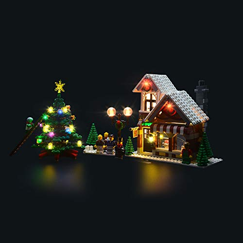 LIGHTAILING Conjunto de Luces (Creator Winter Toy Shop ) Modelo de Construcción de Bloques - Kit de luz LED Compatible con Lego 10249(NO Incluido en el Modelo)