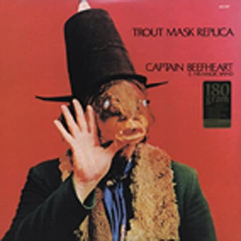 Captain Beefheart Trout Mask - CAPTAIN BEEFHEART Trout Mask Replica