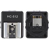 Fotga Flash Adaptador de zapata Convertidor de de Hot Shoe para Sony Cámaras Videocámara A7A7R a7ii A7S A6000NEX-6A99A58RX1RX1R RX10RX100M, VG900E vg30e CX900E ax100e, funciona con un Versión Nikon Flash, HC de 512